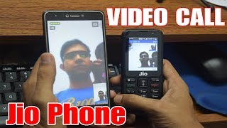 How to make video call from android mobile to jio phone
