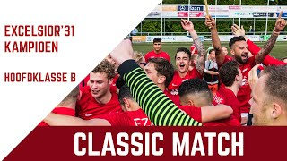 Screenshot van video Classic match: Excelsior'31 - Flevo Boys (kampioenschap Hoofdklasse B 2019)