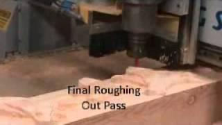 Mantel Engraving
