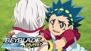 BEYBLADE BURST EVOLUTION The Showdown Between Valt and Shu
