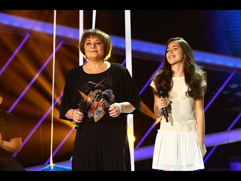 Laura Lavric feat. Serena Gabur - Cine m-a făcut om mare, Next Star