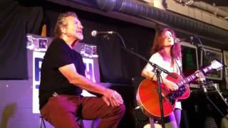 Patty Griffin & Robert Plant Highway Song live at Rough Tra