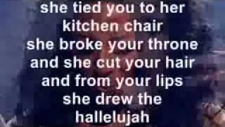 Alexandra Burke  Hallelujah con letra inglés
