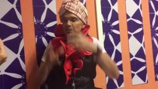 Netinho concede entrevista para imprensa após show no Camarote do Nana II