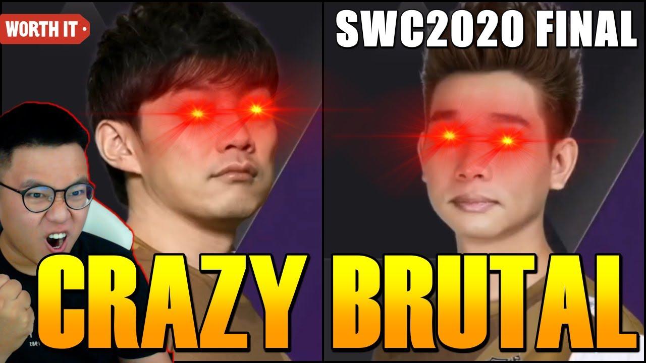 SeanB - CRAZY INTENSE FINAL SWC 2020! Summoners War World Championship Final Mr Chung vs GAIA
