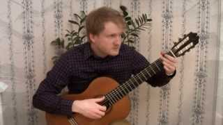 The Beatles - Yesterday (Classical Guitar Cover by Jonas Lefvert)