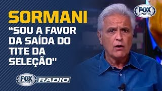 'TROCARIA HOJE': Sormani diz que faria GRANDE MUDANÇA na Seleção Brasileira