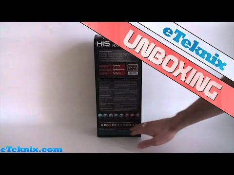 HIS Radeon 6950 2GB Graphics Card Unboxing Video