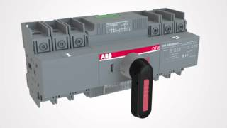 Transfer switches OTM 40…125 A – Easy installation of accessories