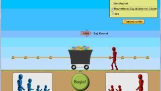 Kuvvet ve Hareket: Temel İlkeler 1 - Halat Çekme Oyunu