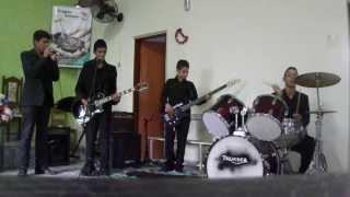 Banda Genesis tocando Emanuel-fernandinho