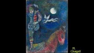 Claude Debussy:  Clair de lune - Fêtes galantes 1.  (P. Verlaine)