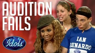 AUDITIONS GONE WRONG Angry Contestants & More   Idols Global