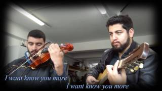 I Surrender - Hillsong Lyrics with Violin and Acoustic Guitar