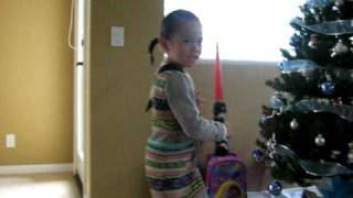 Spy Girl KLyn with Light Saber