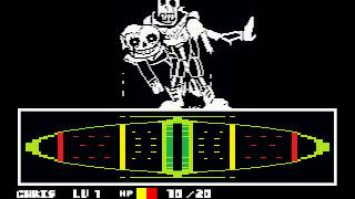 Six Bones Undertale Battle Mode