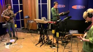 "Alt-J performing ""Fitzpleasure"" on KCRW"