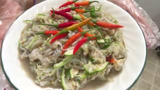 Homemade Lao food som-pa-noi Lao food/Naly's kitchen.