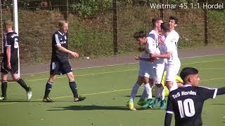 U19 Landesliga Staffel 2 17/18 SC Weitmar 45 - DJK TuS Hordel