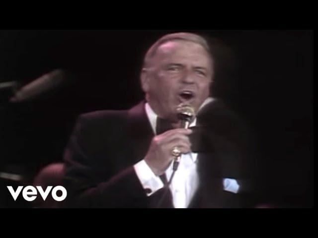 Video de Frank Sinatra en directo interpretando ''New York, New York''