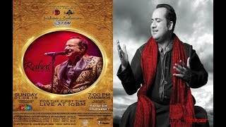 Rahat Fateh Ali Khan Stage  for Performing at IOBM