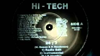 Hi Tech - 24 7 DJ Shok (Instrumental) (1996) [HQ]