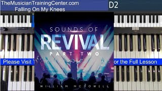 "Organ: How to Play ""Falling On My Knees"" by  William McDowell"