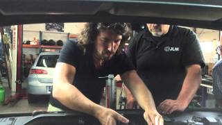 The making of JLM Air Intake & EGR Cleaning instruction movie - snap shot