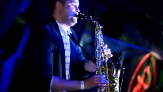 Deepest Blue feat - Mr. Saxton - Give It Away (live saxophone)