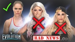 REAL REASON WHY WWE IS FRUSTRATED WITH ALEXA BLISS AND CARMELLA (NEW CHAMPIONS TO BE CROWNED)
