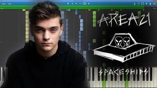 [IMPOSSIBLE + LYRICS] AREA21 (Martin Garrix) - Spaceships (Max Pandèmix Piano Cover)