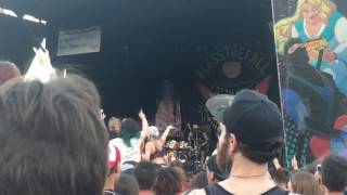 Bless The Fall - Hey Baby, Here's that song you wanted. Warped tour, Nashville. 6/27/17
