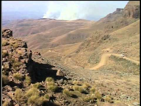 Zululand, South Africa the Drakensberg Mountains and Sani Pass