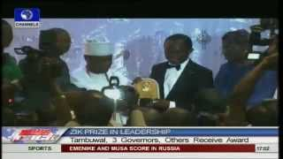 Zik Prize Award :Three Governors,House Speaker,Others receive award