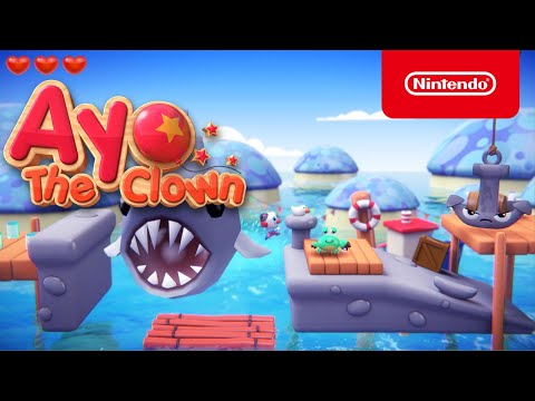 WTFF::: We\'re Getting Some Serious Yoshi Vibes From Cute Platformer \'Ayo The Clown