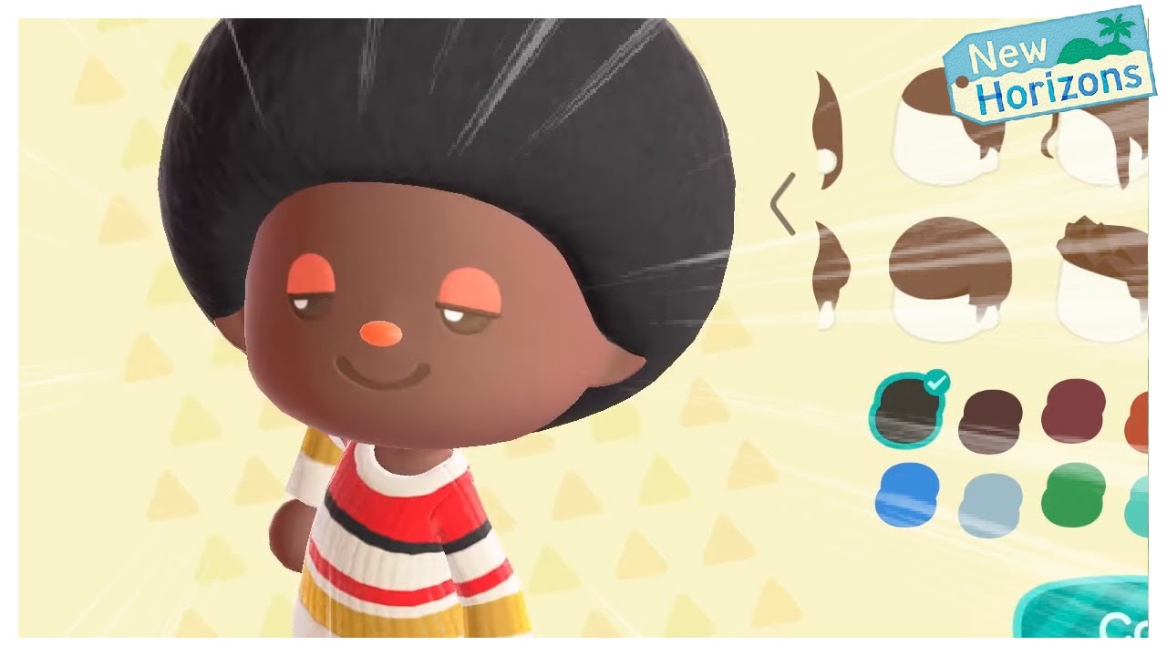 Etce - YOU CAN HAVE AFROS IN ANIMAL CROSSING NOW?