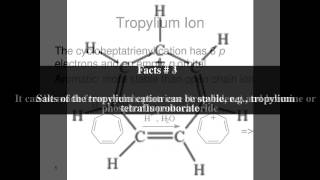 Tropylium cation Top # 6 Facts
