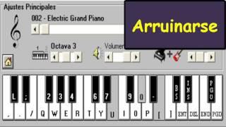 Arruinarse (Tan Bionica) - Playcumbia Mobil - Piano Electrónico 2.5