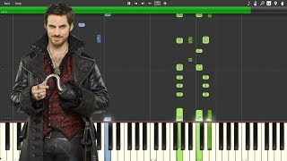 """""""Revenge Is Gonna Be Mine"""" - Once Upon A Time [Piano Tutorial] (Synthesia)"""