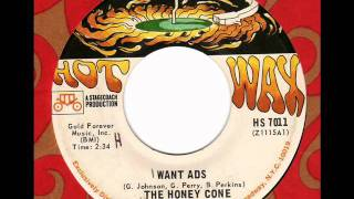 HONEY CONE  Wants Ads  Northern Soul