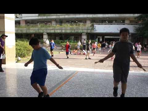 1081017跳繩比賽 1 - YouTube