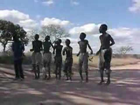 zulu kids dancing in south africa