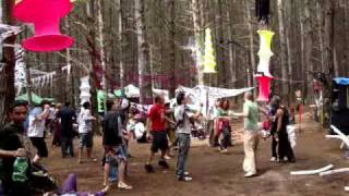 Morning psytrance at Monster Mash doof 2010