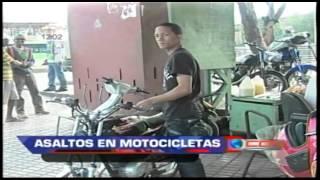 Motocicletas AX100, 115 y Yamaha 100 son las más utilizadas para cometer asaltos