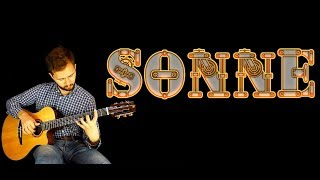 (Rammstein) - Sonne - Fingerstyle guitar + TABS