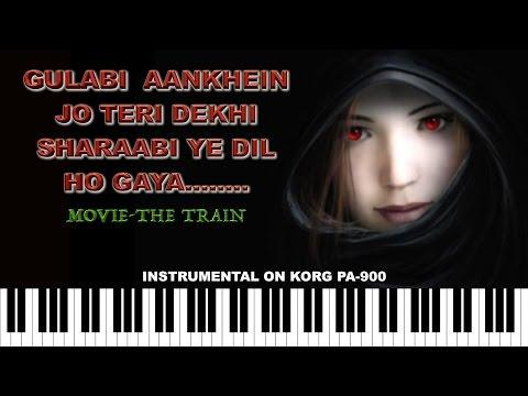 Download gulabi aankhen jo teri dekhi.