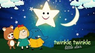 Nursery Rhymes Twinkle Twinkle Little Star Song With Lyrics For Toddlers & Children's - Lattu Kids