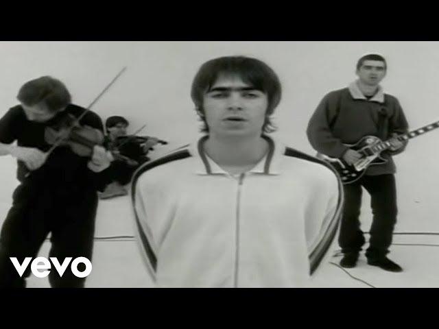 Videoclip oficial de la canción Whatever de Oasis