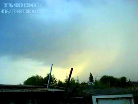 Lightning strikes in Kharkov, Ukraine – 03.06.2009