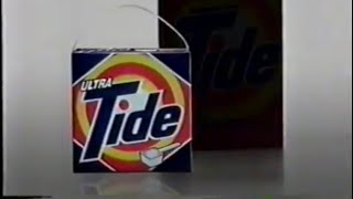 1990 Ultra Tide Laundry Detergent TV Commercial